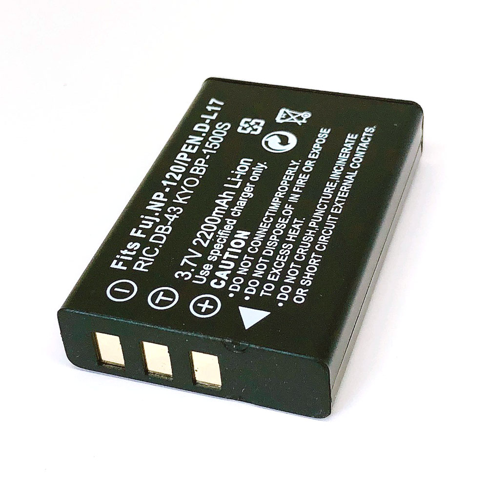 NP-120 NP120 FNP120 DL17 D-Li7 DB-43 BP-1500s Батарея для цифровой фотокамеры Fuji Fujifilm F10 F11 M603 зум Pentax MX4 MX550 RICOH GX8 300G 500G