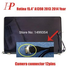 """100% New Original Late 2013 Mid-2014 Year 2880×1800 15"""" Retina A1398 LCD LED Screen For Macbook Pro A1398 LCD Screen Assembly"""