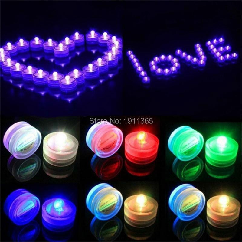 12 stücke Wasserdichte Mini LED Kerze Tee Nachtlicht Mit Batterie - LED Beleuchtung