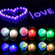 12pcs Waterproof Mini LED Candle Tea Night Light With Battery Wedding Party Christmas Halloween New Year Deocration Vase Hookah