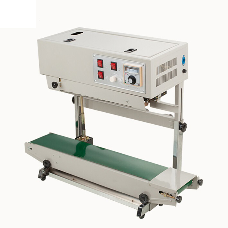 FR-900v Vertical Sealing Machine for Plastic Bag Popular Sealer Welding Machine for Liquid or Paste Package Able to Print Date
