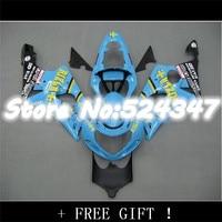 B Light Blue Fairing Kit For A GSX R1000 GSXR1000 GSX R1000 GSXR 1000 K2 K1 00 01 02 2000 2001 2002 Fairings