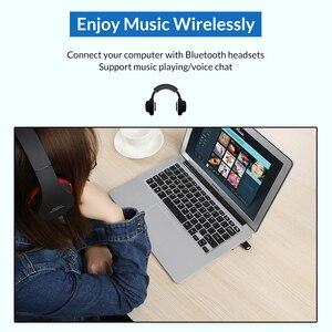 Image 5 - Topk Usb Bluetooth Mini 4.0 Bluetooth Dongle Adapter Zender Ontvanger Voor Computer Pc PS4 Speaker Muziek Draadloze Muis Aptx