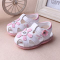 New Arrival Summer Cute Baby Girls Sandals Princess Flowers Toddlers Kids Shoe Toddler Baby Girl Shoes Kids Toddler Sandals