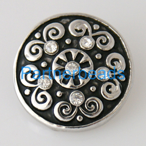 product Free shipping Hot Sale DIY 20mm Snap Buttons for ginger snap jewelry Fit button Bracelets from www partnerbeads com KB7508
