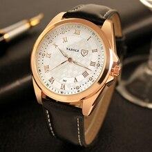 купить YAZOLE Men Watch Top Brand Luxury Business Quartz Watches 2019 Reloj Hombre Waterproof  Male Clock Relogio Masculino дешево