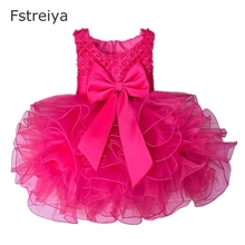 Baby girls princess dress mini costume kids cake smash dresses for 1 year girl baby birthday lucky+child summer clothes
