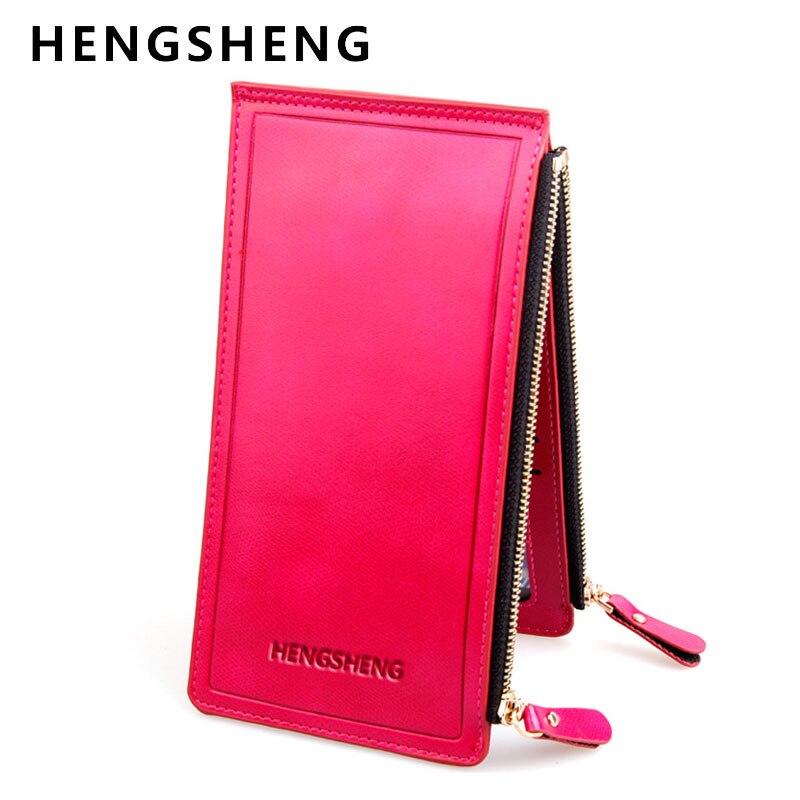 HENGSHENG Long Bank Card Sets Womens Multi Bits Mens Credit Card Holder Large Capacity Wallet Purse for Women and Men