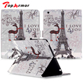 TopArmor Tablet Cover for coque iPad 2 3 4 Case Cover for fundas iPad 2 3 4 Cover 9.7 inch with Stand Card Holder
