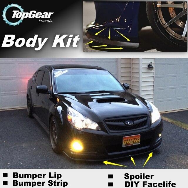 ניס Bumper Lip Deflector Lips For Subaru Legacy / Liberty / B4 Front DT-75