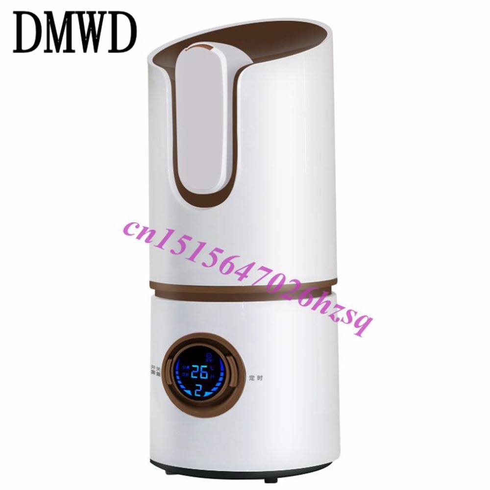 DMWD Digital Mini Ultrasonic Humidifier Humidifier Aromatherapy Essential Oil Diffuser Atomizer Air Purifier Mist Maker Fogger dmwd electric ultrasonic humidifier essential oil diffuser lamp aromatherapy mist maker fogger air purifier led night light 24v