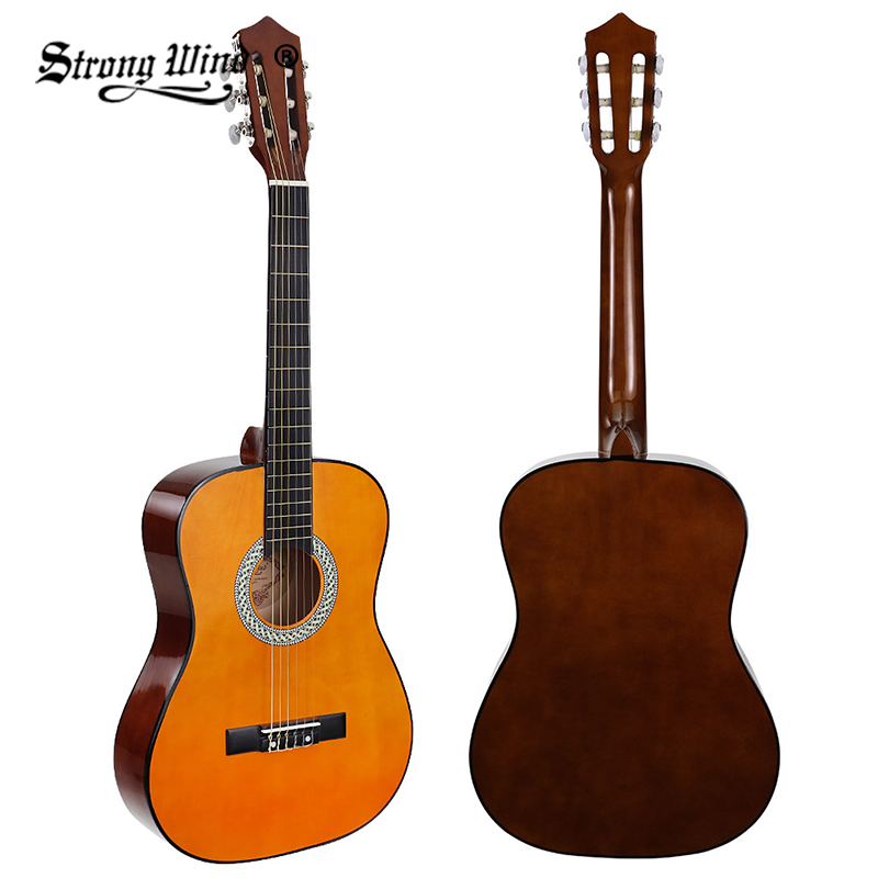 1/2 Size 30 Inch Classical Acoustic Guitar Ukulele 6 Nylon Strings Rosewood Guitarra Beginner Unisex Folk Gitaar Children Unisex car styling daytime running light 2013 for honda crz led fog light auto angel eye fog lamp led drl high