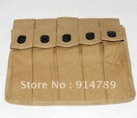 WWII US AMRY THOMPSON MAGAZINE POUCH 5 CELL 30 ROUNDS 31836