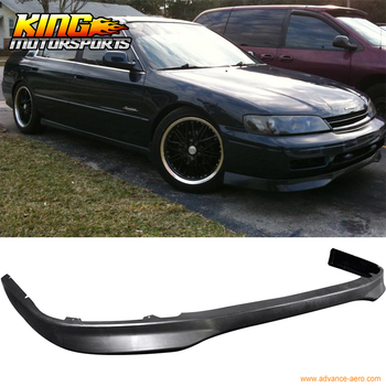 Fit For 94-95 Honda Accord T-R Style Front Bumper Lip Spoiler