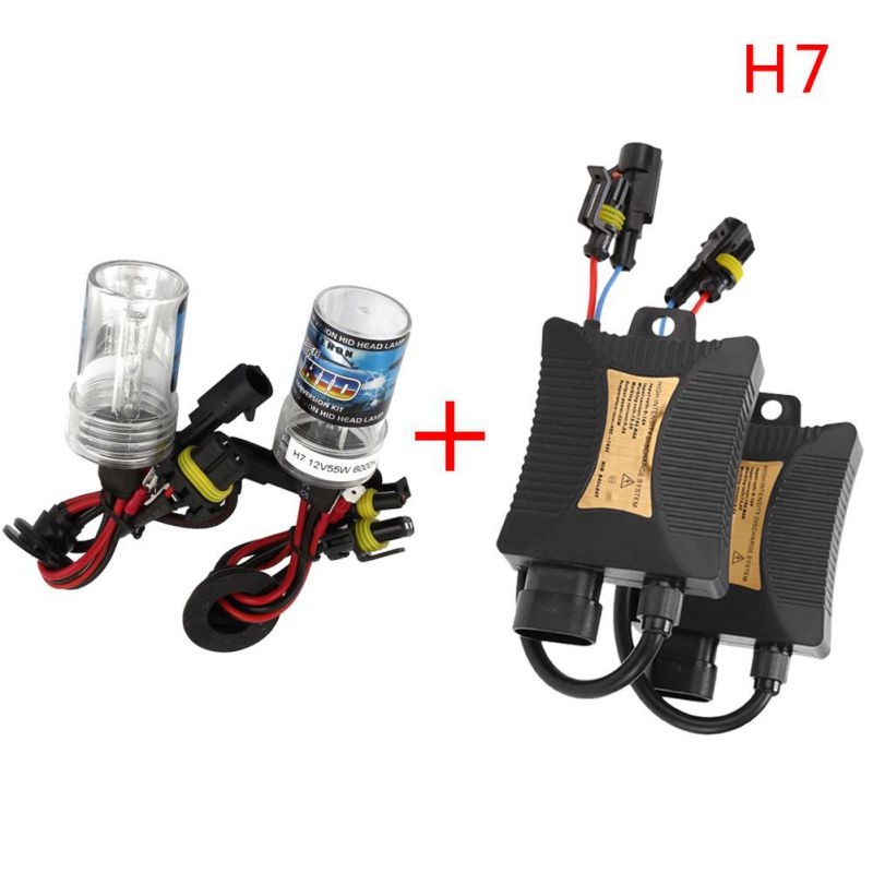 Auto Headlight Light H7 HID Xenon Car Conversion Replacement Kit Head Light Headlamp 12V 55W 3000K 12000K снежкодел город игр гранато леп gi 6549