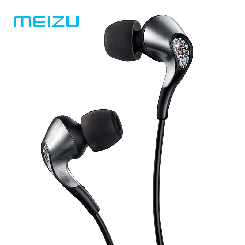 MEIZU flow Triple Driver In-Ear Earphone HIFI hybrid Earbuds with Microphone and Remote for apple earpods meizupro7 plus huawei for apple earpods with earphones 3 5mm plug and lightning earphone plug stereo phones in ear earphone with microphone original