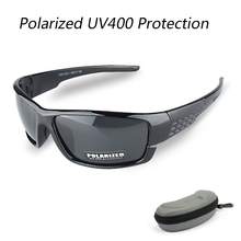 With Case Men Women Polarized Cycling Glasses Outdoor Sports Sunglasses Mountain Bike Bicycle Sun Glasses Windproof Goggles