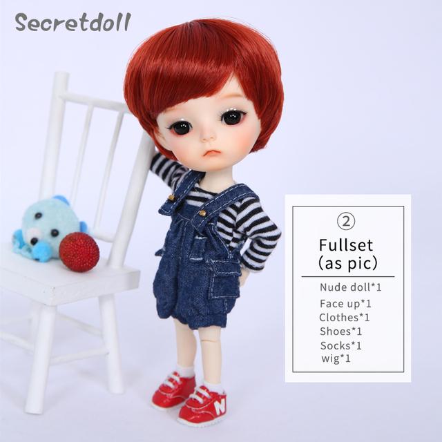 OUENEIFS Ming Secretdoll BJD SD Doll 1/8 Body Model Resin Figures For Children High Quality Mini Toys Fashion Shop Luodoll