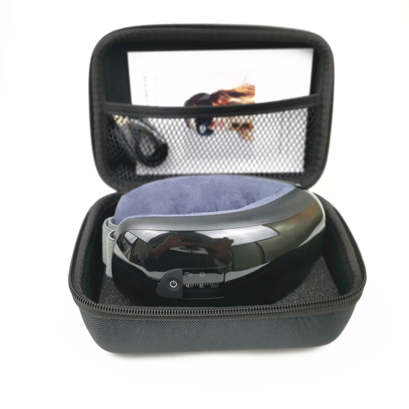 Smart Eye Massager Anti Wrinkles Eyes Massage for tired eyes Air Compression heated Goggles Dark circles remove with travel case