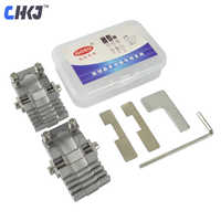 CHKJ 2pcs/lot Goso Universal Key Machine Fixture Clamp Locksmith Tools Replacement Parts for All Key Copy Machine Free Shipping
