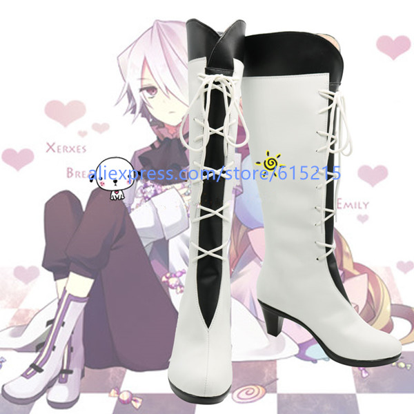 Custom Made Japanese Pandora Hearts Alice Boots Cosplay Shoes Boots Custom made