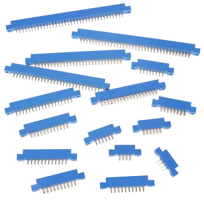1 PC 805 Series 3.96mm PCB Khe Cắm Hàn Thẻ Edge Cổng Kết Nối 8-72 Pin