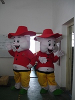 Hot sale red pig Mascot Costume cartoon Adult Fancy Dress Party Halloween Costume