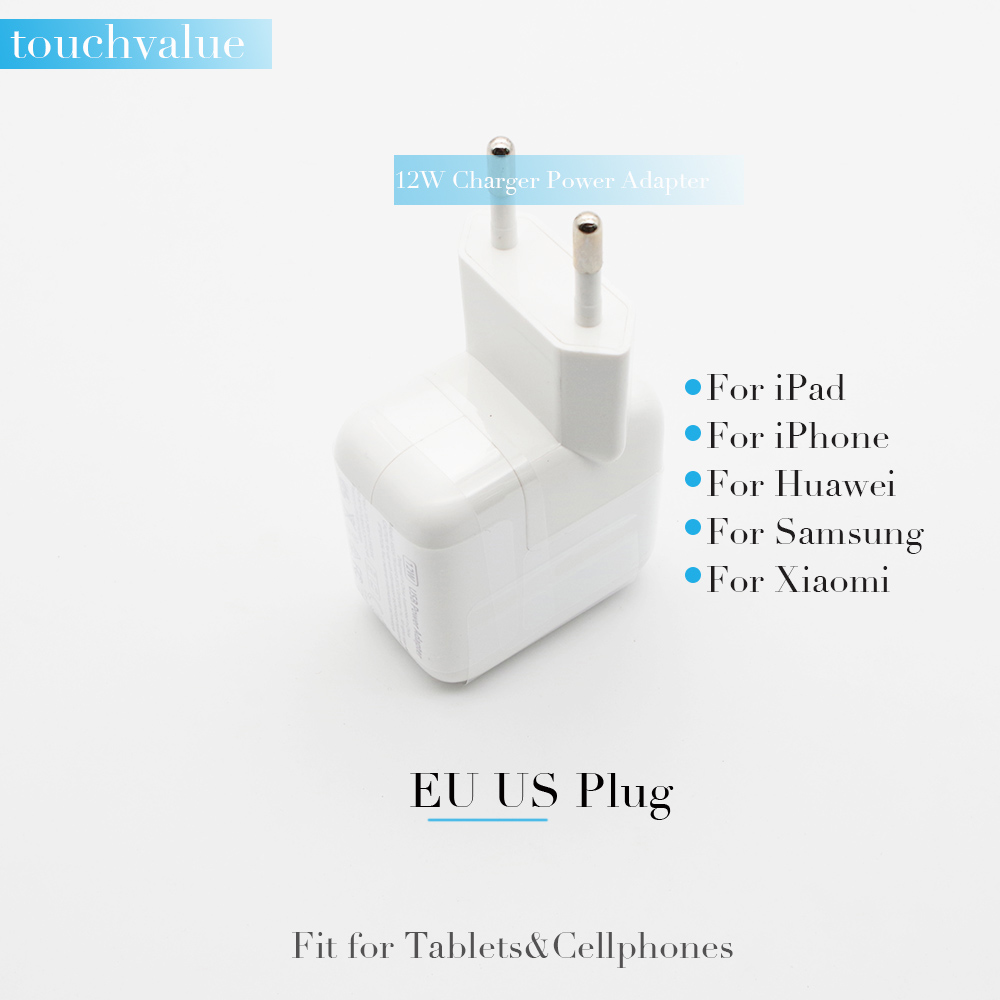 AAAA 12W Charger For Apple For Huawei 2.4A USB Power Adapter Travel Portable Tablets Cellphones Charging Adapter For Xiaomi New