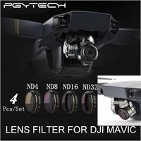 PGY ND4 ND8 ND16 ND32 HD Lens Filters Set for DJI MAVIC Pro Drone Quadcopter