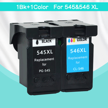 CMYK SUPPLIES 2Pack PG545 CL546 XL ink cartridges replacement for Canon PG-545 pg 545 CL-546 for Canon IP2850 MX495 MG2950 MG255