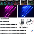 18 Colors Motorcycle Engine Chassis Lights SMD LED Strip Light RGB 5050 Flexible Waterproof  IP65 DC 12V For Honda Motor