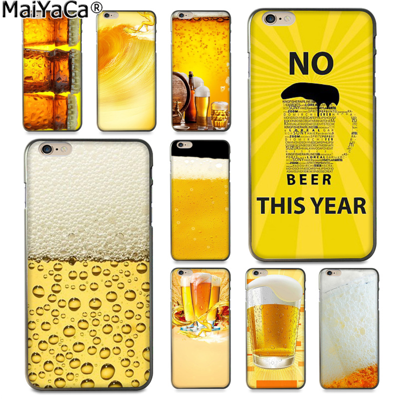 MaiYaCa Summer Beer Cute Phone Accessories Case for Apple iphone 11 pro 8 7 66S Plus X 5S SE XS XR XS MAX Cover image