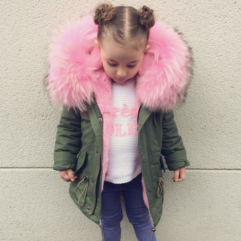 Sunhisne & Rainy Girls Boys Down Coat Winter Kids Jackets Coats Big Fur Collar Children's Thick Warm Long Down Jacket Parkas 2017 new baby girls boys winter coats jacket children down outerwear warm thick outdoor kids fur collar snow proof coat parkas