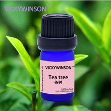 VICKYWINSON Tea Tree Essential Oil For Diffuser Humidifier Pure natural Orgnic Fragrance Aromatherapy 5ml deodorization