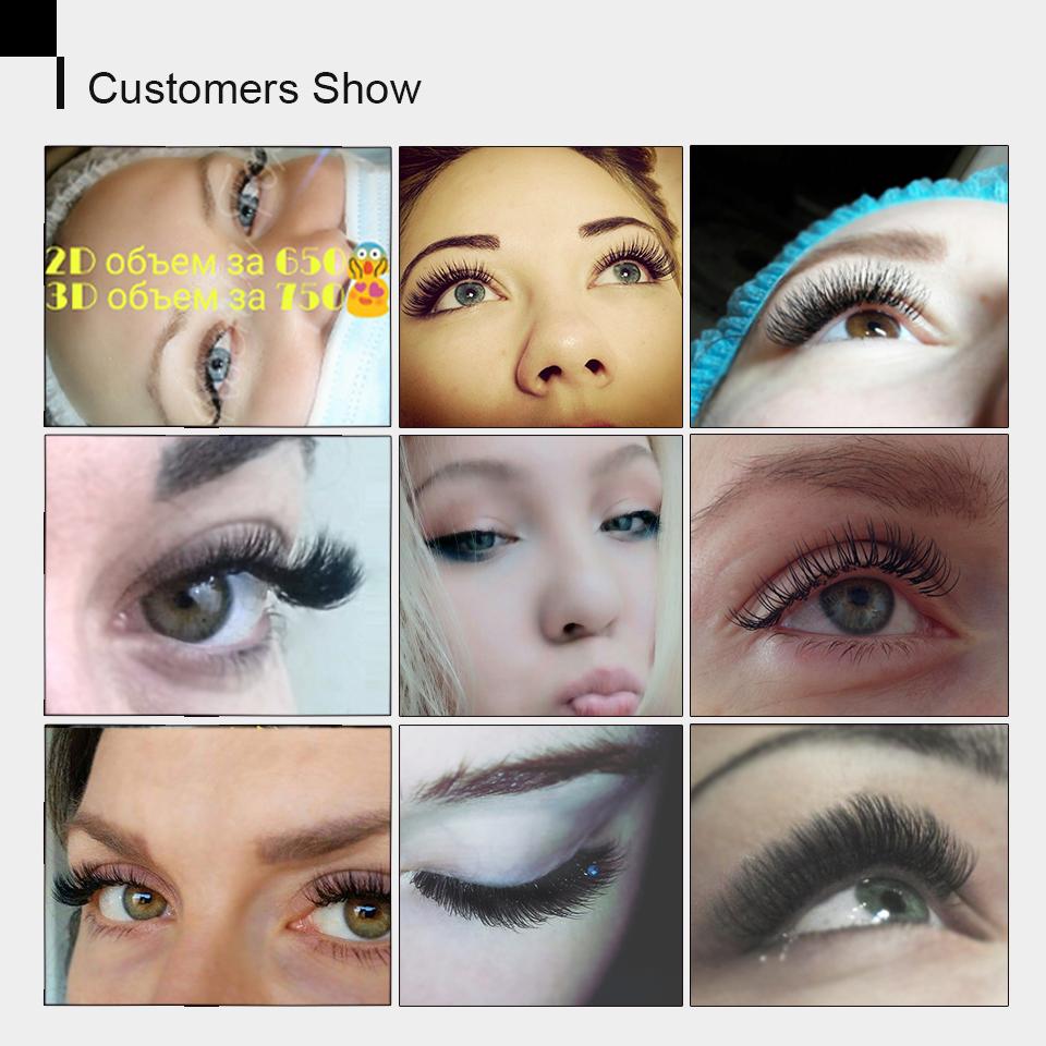 eyelash Extenison Individual Lashes (7)
