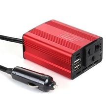 12V to 220V Car Inverter 150W Power Inverter Cigarette Lighter Plug 12v 220v 110v Inverter with USB Charging Port