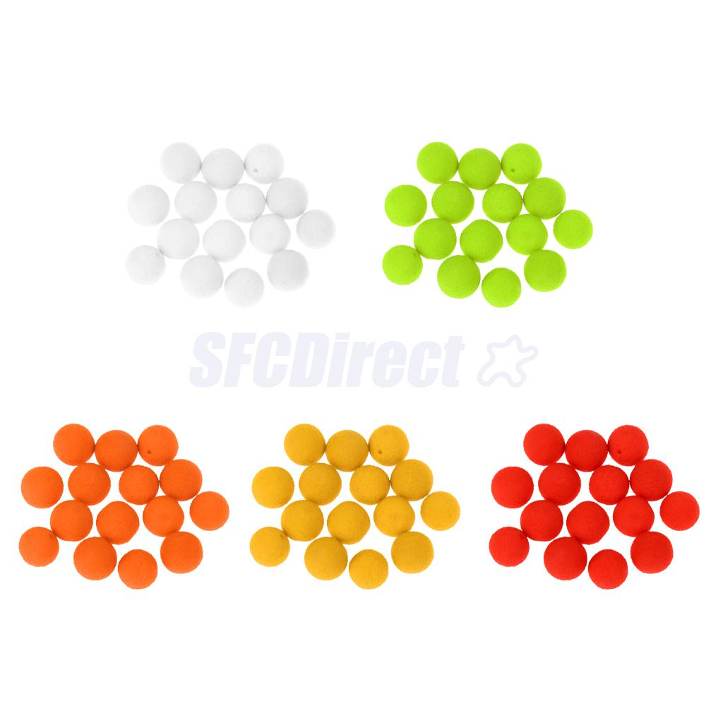12-20PcsBox Soft Fishing Lures Boilies Carp Baits Flavour Floating Lures Corns Pops Up Ball Beads 8mm-14mm
