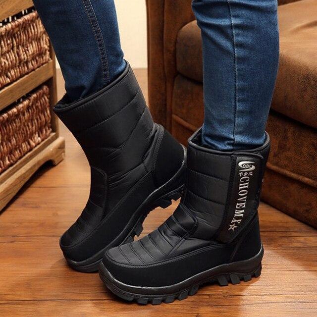 2016 Nueva Llegada de Los Hombres de Invierno de nieve Botas de Invierno Winter Wear Zapatos Calientes hombres size40-45
