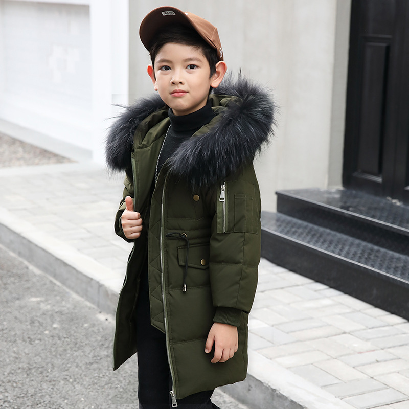 Boys Girls down jacket long section thick chirldren winter clothes kids down clothing Korean jacket for 6 8 10 12 14 Years 38mm om36 cylinder kit fits efco oleo mac om emak 436 sparta 36 37 om38 trimmer zylinder w piston ring pin clips assembly