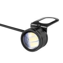 Lâmpada led para carro, lâmpada olho de águia para carro 12v 5w 20mm, farol de milha, backup reverso lâmpada luz diurna para carro, luzes sinalizadoras
