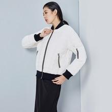 LYNETTE'S CHINOISERIE 2016 Autumn Winter Original Design Women Loose Handsome Baseball Jacket 90% White Duck Down Jacket Coats