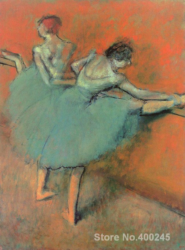 Dancers at the Barre - Edgar Degas - WikiArt.org