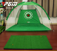 single Golf tent 200*140cm PGM Indoor golf practice net swing combating cage Indoor Exercise Child Adult golf practice tent
