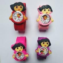 Women Cartoon Princess Mermaid girl style kids watches bracelet digital dial chi