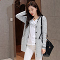 2015 Brand New Women Cardigan Long Sleeve Spring Autumn Female Casual Slim Knitwear Fashion Style Sweater Knitted Coat Outerwear