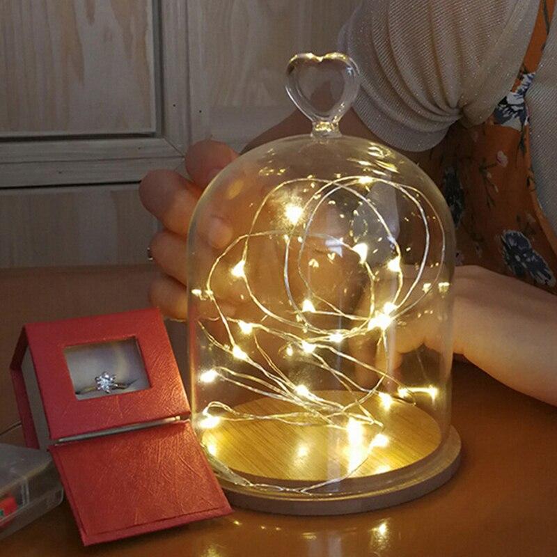 1 Mt/2 Mt Led String Lampen Kupfer Draht Fee String Terrasse Lichter Wasserdicht Garten Weihnachten Hochzeit Party Dekoration In Verschiedenen AusfüHrungen Und Spezifikationen FüR Ihre Auswahl ErhäLtlich