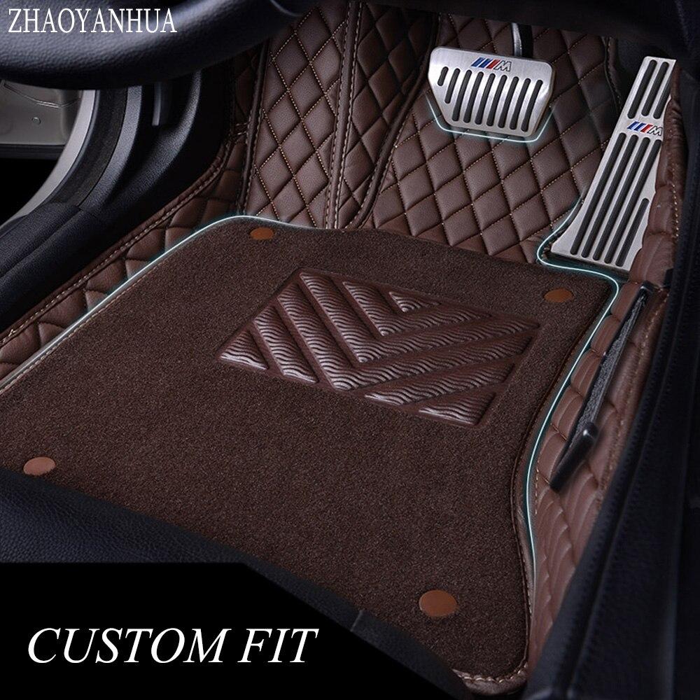 ZHAOYANHUA tappetini auto per Honda Accord 6a 7a 8a 9a generazione caso della copertura completa auto-styling tappeti tappeto fodere (1998-)