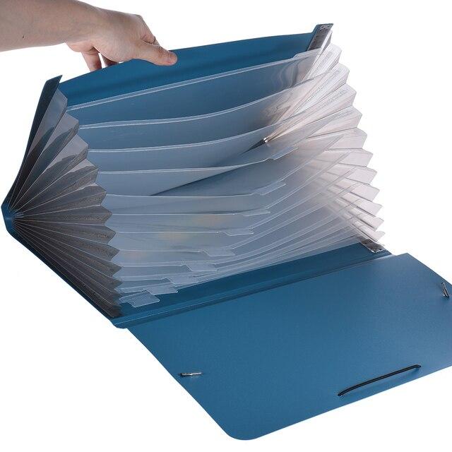 a4 legal letter size 13 pocket poly expanding file folder organizer
