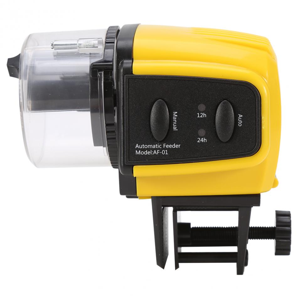 New aquarium tank auto fish feeder timer digital lcd for Fish feeder timer