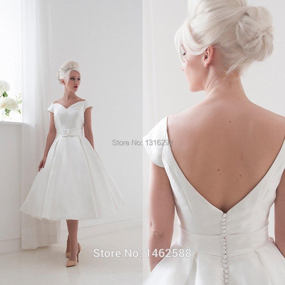 White Satin Bridesmaid Dresses
